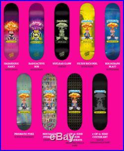 1-Of-A-Kind Custom Art Hand done Santa Cruz Garbage Pail Kids Skateboard