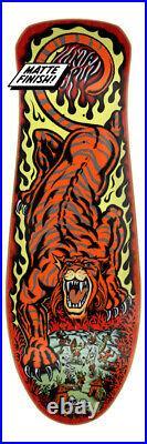 10.3in x 31.1in Salba Tiger Reissue Santa Cruz Skateboard Deck CONFIRMED ORDER
