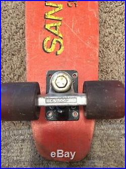 1970s Santa Cruz Fiberglass skateboard