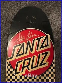 1979 Santa Cruz Steve Olson vintage skateboard dogtown sims era