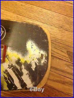 1980's Santa Cruz Micke Alba Skateboard Tombstone Malba