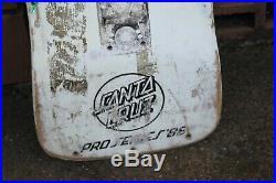 1980's Vintage Santa Cruz Jeff Kendall End of World Skateboard Deck ORIGINAL
