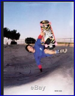 1985 Santa Cruz Micke Alba skateboard deck rare, vintage. Roskopp Grosso Lucero