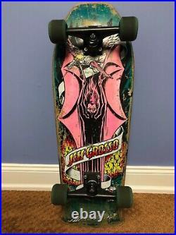 1987 Santa Cruz JEFF GROSSO Demon tri-tail Skateboard