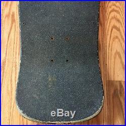 1987 Santa Cruz Rick Spidey De Montrond Original Vintage Skateboard Deck Black