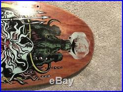1988 OG Vintage Santa Cruz Jason Jessee Neptune Skateboard Grosso Powell Peralta