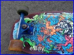 1988 Santa Cruz Skateboard Rob Roskopp Tracker Powell Peralta Zorlac