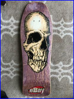 1988 Santa Cruz Street Creep Oops Series Vintage Skateboard Deck NHS Phillips