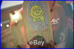1989 Jeff Grosso Acid Tongue Signed Rare Vintage Santa Cruz Original Skateboard
