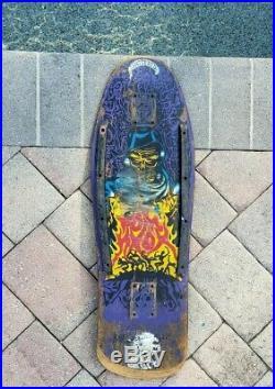 1989 Santa Cruz Tom Knox GHOUL DECK Marburg Zorlac Powell Peralta Alva Caballero