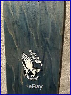 1990 OG Vintage NOS Santa Cruz Jason Jessee Guadalupe Skateboard Grosso Powell