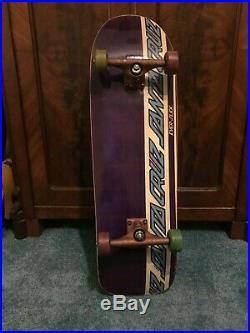 1991 Skateboard Santa Cruz Jeff KEndall slick everslick Powell Peralta Natas