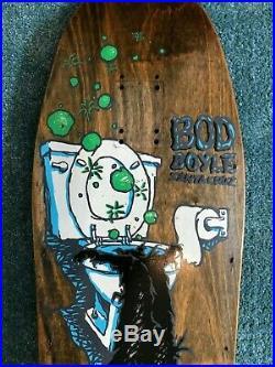 1991 Vintage Skateboard Santa Cruz Bod Boyle Sick Cat Natas Gonz Powell Peralta