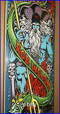 2006 Santa Cruz 30th Rob Welsh Neptune City Skateboard Deck Rare Jason Jessee