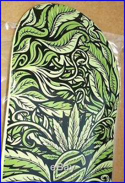 2009 Santa Cruz Nilton Neves Weed God Skateboard Deck Phillips
