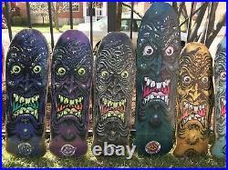 2013 Santa Cruz Rob Roskopp Face 35 Longboard Skateboard Deck