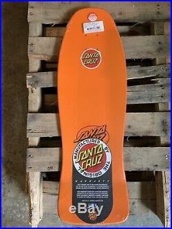 2016 Santa Cruz Jeff kendall End of world skateboard oldschool Reissue Deck Bomb