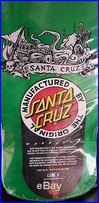 2017 Santa Cruz Jason Jesse Neptune metallic green reissue in shrink new