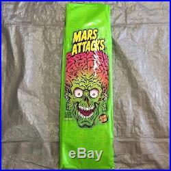 2018 Santa Cruz Skateboards x Topps SEALED MARS ATTACKS BLIND BAG SKATE DECK