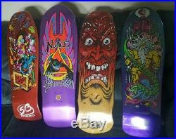 4 Ltd Santa Cruz Skateboard decks Reissue Natas Roskopp Jason Jessee Grosso NOS