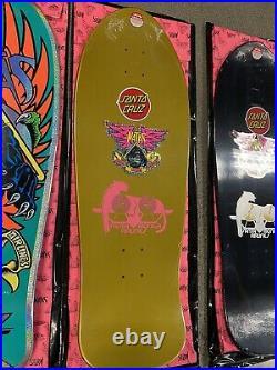5 Natas Santa Cruz Blind Bag Skateboard Decks Lot Of 5 New In Shrink Wrap