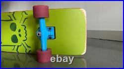 Bart Simpson Cruiser Skateboard, Factory Complete, Santa Cruz Slightly Used