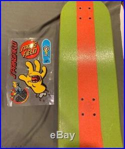 Bart Simpson Santa Cruz Skateboard Brand New Sealed