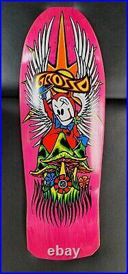 Black Label skateboard Jeff Grosso Forever PINK 1st run santa cruz powell