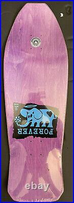 Black Label skateboard Jeff Grosso Forever deck rare santa cruz powell peralta