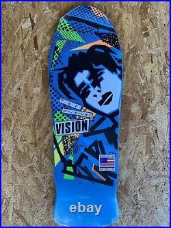 Blue Vision Mark Gonzales Reissue Skateboard Deck Powell Peralta Santa Cruz