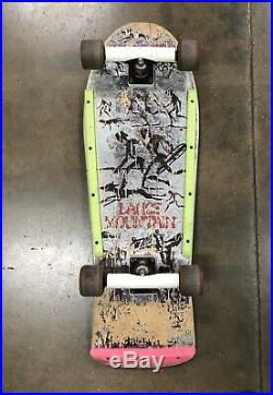 COMPLETE ORIGINAL 1985 Powell Peralta Lance Mountain Skateboard Santa Cruz Bones
