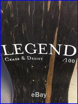 Cease And Desist Santa Cruz Jeff Grosso Alice In Wonderland Reissue Deck 52/100