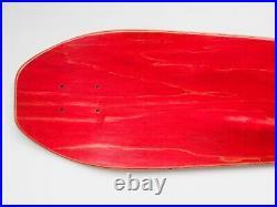 Cease & Desist Jeff Grosso Skateboard Deck Green Stain Santa Cruz Reissue 77/100