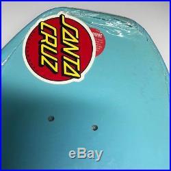 Collectors Santa Cruz Deck reissue Rob Roskopp Face Deck Baby Blue Dip