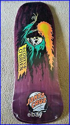 Corey O'Brien Reaper Purple Santa Cruz Reissue Skateboard Deck