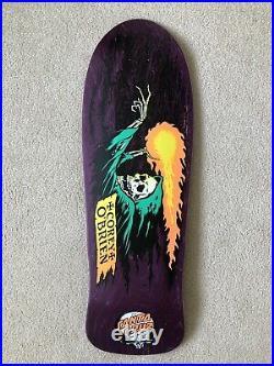 Corey Obrien Santa Cruz Skateboard Deck Reissue