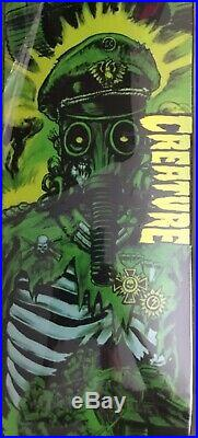 Creature Skateboards Graham Hitz Gravette 3 Deck Set (Powell Santa Cruz Duane)