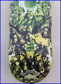 Creature Skateboards Hak Saw 2 Sam Hitz 2009 deck santa cruz vision powell g&s