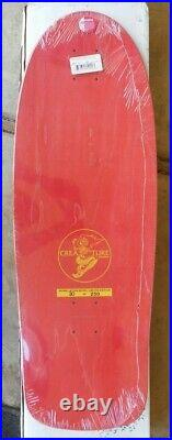 Creature skateboards #30/200 appreciation deck old school 1980's NHS Santa Cruz
