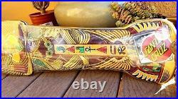DOUBLE SIDED Rare Santa Cruz Egyptian Pharaoh Mummy Skateboard Deck Jim Phillips