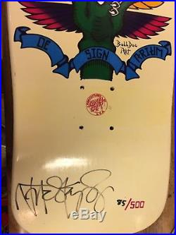 Designarium Natas Kaupas bulldog art Santa Monica Airlines Santa Cruz Skateboard