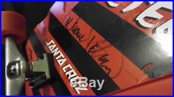 Duane Peters Santa Cruz AUTOGRAPHED BY Duane Peters, Jeff Hedges, and Jay Adams