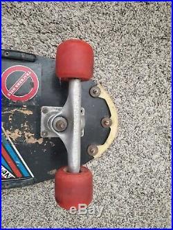 Duane Peters Santa Cruz vintage Skateboard