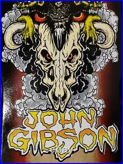Embassy Skateboard Deck John Tex Gibson Zorlac/Powell style 1 of 60
