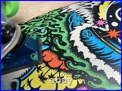 Erick Winkowski Dope Planet Skateboard Complete Gripped, Santa Cruz. Rare, Custom
