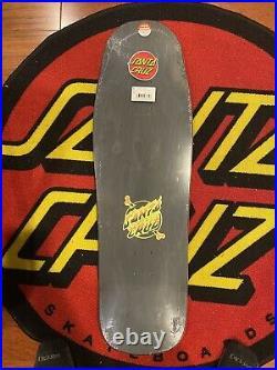 Erick Winkowski Santa Cruz Volcano Skateboard Deck Glow N Dark