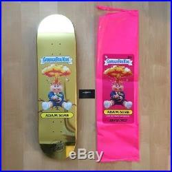 Garbage Pail Kids Santa Cruz Skateboard Deck Filthy Rich Foil Gold Extra Rare