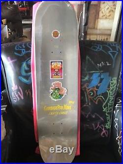Garbage Pail Kids Santa Cruz skateboard deck