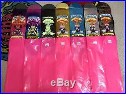 Garbage Pail Kids Skateboard Decks Complete Set Of 7