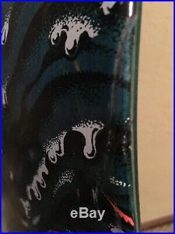 Green/Blue Rob Roskopp Face Drip Santa Cruz Skateboard Deck- Reissue